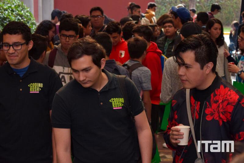 Galería ITAM Coding Rush